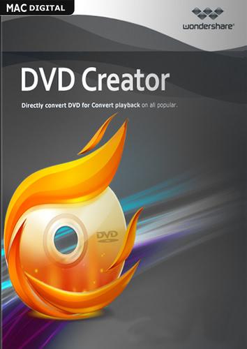 Verpackung von Wondershare Wondershare DVD Creator für Mac - lebenslange Lizenz [Mac-Software]