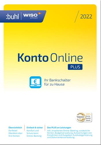 Verpackung von WISO Konto Online Plus (Version 2022) [PC-Software]