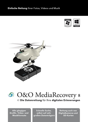 Verpackung von MediaRecovery 8 3 PC [PC-Software]