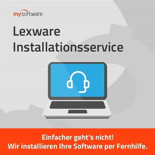 Verpackung von Lexware Installationsservice [PC-Software]