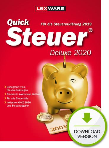 QuickSteuer 2020 Deluxe (für Steuerjahr 2019) (Download), PC