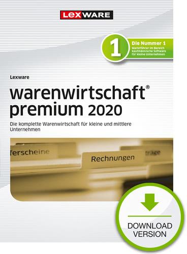 Verpackung von Lexware warenwirtschaft premium 2020 - Jahresversion (365-Tage) [PC-Software]