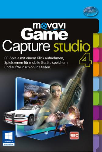 Verpackung von movavi Game Capture Studio [PC-Software]