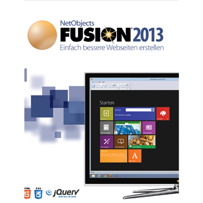Verpackung von NetObjects Fusion 2013 [PC-Software]