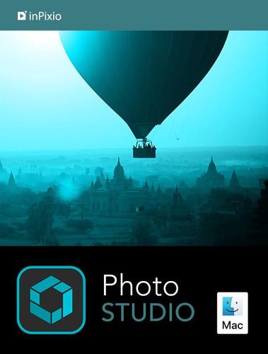 Verpackung von inPixio Photo Studio 10 für MAC - 1 MAC / 1 Jahr [Mac-Software]