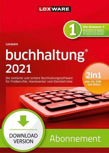 Verpackung von Lexware buchhaltung 2021 - Abo Version [PC-Software]