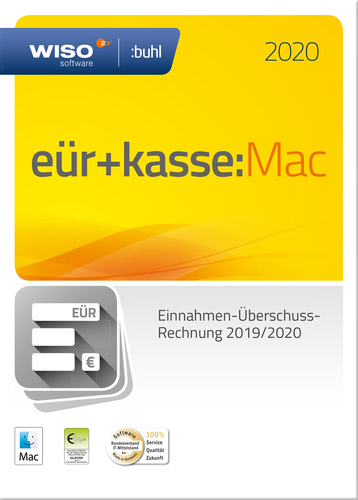 WISO EÜR & Kasse:Mac 2020 (Download), MAC