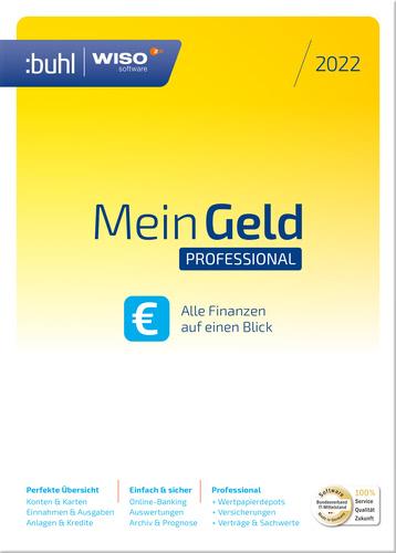 Verpackung von WISO Mein Geld Professional (Version 2022) [PC-Software]