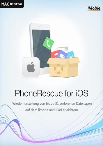 Verpackung von iMobie PhoneRescue iOS (Mac) [Mac-Software]
