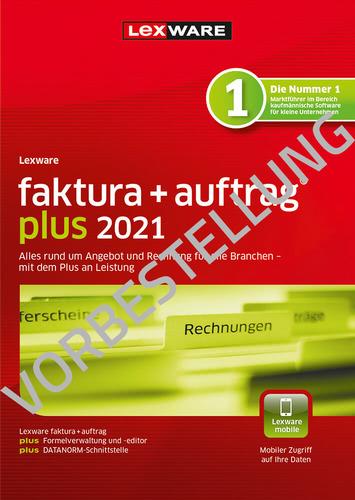 Verpackung von Lexware faktura + auftrag plus 2022 - Jahresversion (365 Tage) - Vorbestellung [PC-Software]