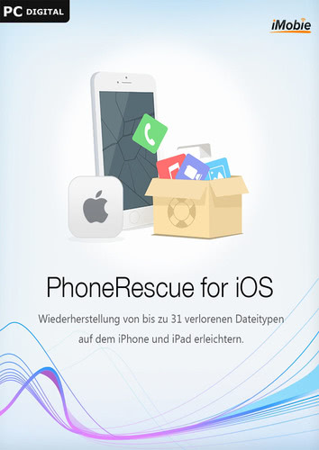 Verpackung von iMobie PhoneRescue iOS (Win) [PC-Software]