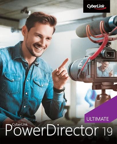 Verpackung von PowerDirector 19 Ultimate [PC-Software]
