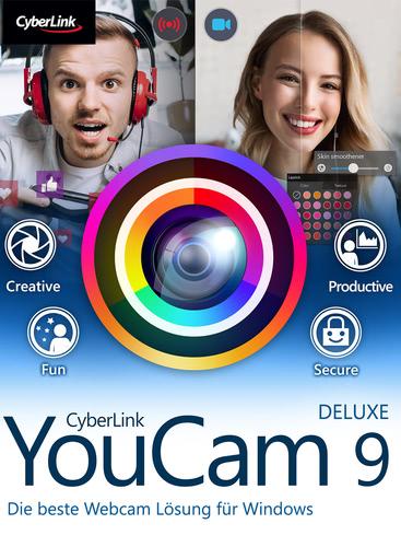 Verpackung von CyberLink YouCam 9 Deluxe [PC-Software]