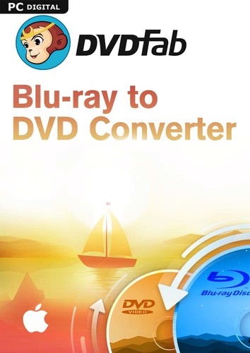 Verpackung von DVDFab Blu-ray to DVD Converter Mac - 1 User 2 Jahre [Mac-Software]