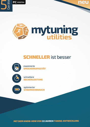 Verpackung von S.A.D. mytuning utilities / 5 Geräte [PC-Software]