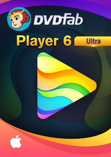 Verpackung von DVDFab Player 6 Ultimate für MAC (24 Monate) [Mac-Software]