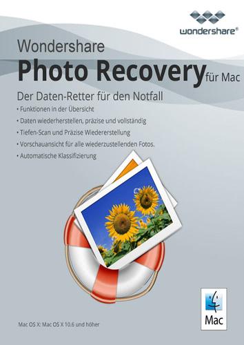 Verpackung von Wondershare Photo Recovery für Mac [Mac-Software]