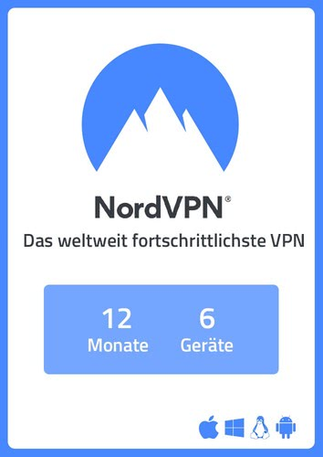 Verpackung von NordVPN (6 Geräte / 1 Jahr) [MULTIPLATFORM]
