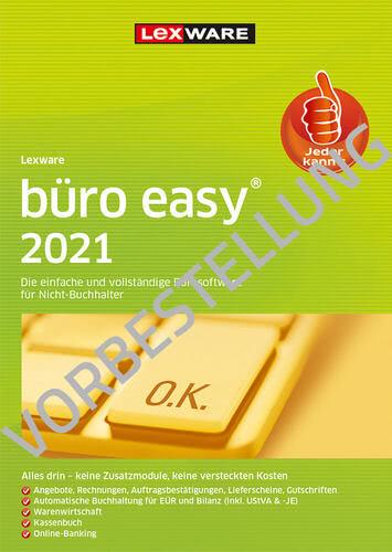 Verpackung von Lexware büro easy 2022 - Jahresversion (365 Tage) - Vorbestellung [PC-Software]