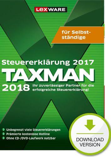 TAXMAN 2018 für Selbstständige (für Steuerjahr 2017) (Download), PC