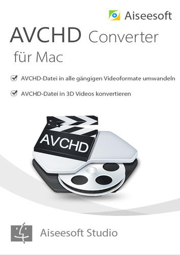 Verpackung von Aiseesoft AVCHD Video Converter für Mac - Lebenslange Lizenz [Mac-Software]