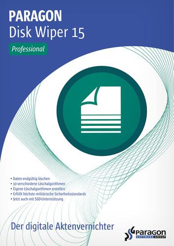 Verpackung von Paragon Disk Wiper 15 Professional [PC-Software]