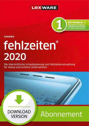 Verpackung von Lexware fehlzeiten 2020 - Abo-Version [PC-Software]
