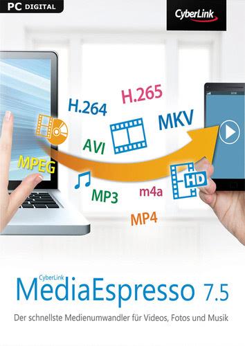 Verpackung von CyberLink MediaEspresso 7.5 [PC-Software]