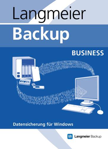 Verpackung von Langmeier Backup 10 Business Unbegrenzte Laufzeit inkl. 1 Jahr Updateservice [PC-Software]