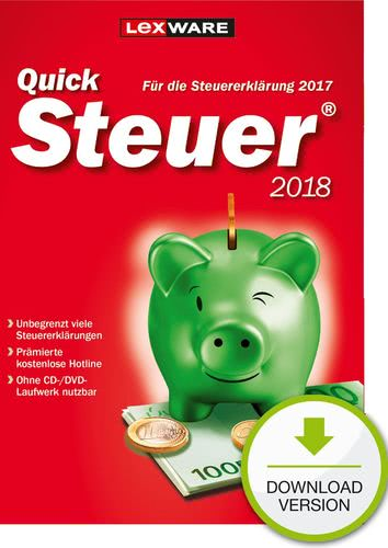 QuickSteuer 2018 (für Steuerjahr 2017) (Download), PC