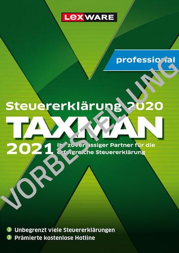 Verpackung von Taxman professional 2022 für (Steuerjahr 2021) 5-Platz-Lizenz - Vorbestellung [PC-Software]