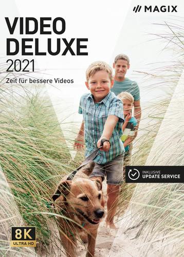 Verpackung von MAGIX Video deluxe 2021 [PC-Software]