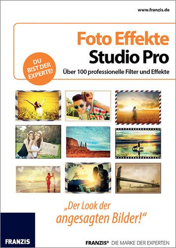 Verpackung von Foto Effekte Studio Pro für PC [PC-Software]