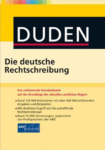 Verpackung von Duden Die deutsche Rechtschreibung für Mac [Mac-Software]