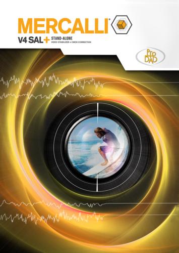 Verpackung von proDAD Mercalli V4 SAL+ (Version 2017) [PC-Software]