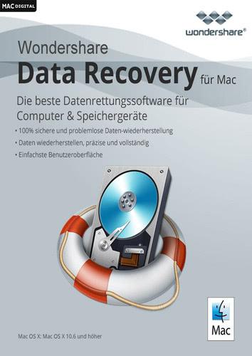 Verpackung von Wondershare Data Recovery [Mac-Software]