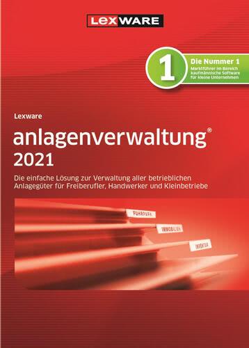 Verpackung von Lexware anlagenverwaltung 2021 – Jahresversion (365 Tage) [PC-Software]