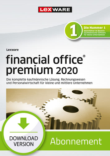 Lexware financial office 2020 premium – Abo-Version (Download), PC