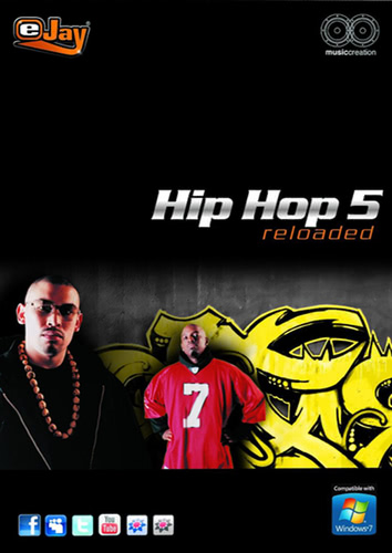 Verpackung von eJay HipHop 5 reloaded [PC-Software]