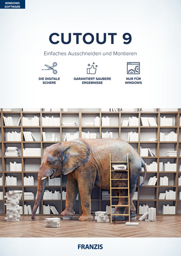 Verpackung von Franzis CutOut 9 [PC-Software]