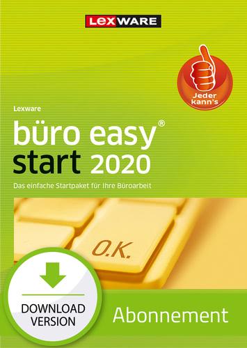 Verpackung von Lexware büro easy start 2020 - Abo Version [PC-Software]