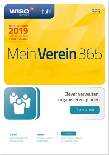 Verpackung von WISO Mein Verein 365 - teamwork - Edition (2019) [PC-Software]