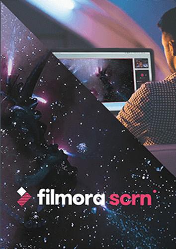 Verpackung von Wondershare Filmora Scrn für PC [PC-Software]