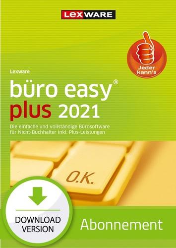 Verpackung von Lexware büro easy plus 2021 - Abo Version [PC-Software]
