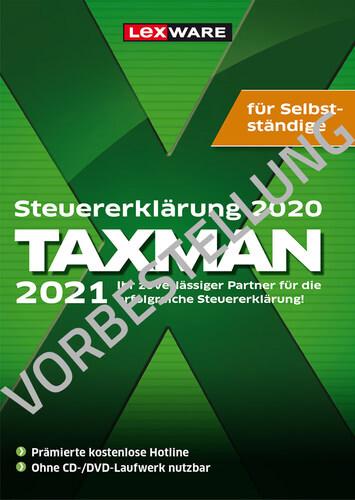 Verpackung von Taxman 2022 für Selbstständige (für Steuerjahr 2021) - Vorbestellung [PC-Software]