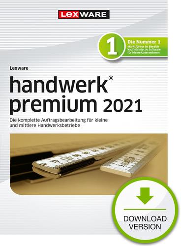 Verpackung von Lexware handwerk premium 2021 Testversion [PC-Software]