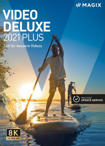Verpackung von MAGIX Video deluxe 2021 Plus [PC-Software]