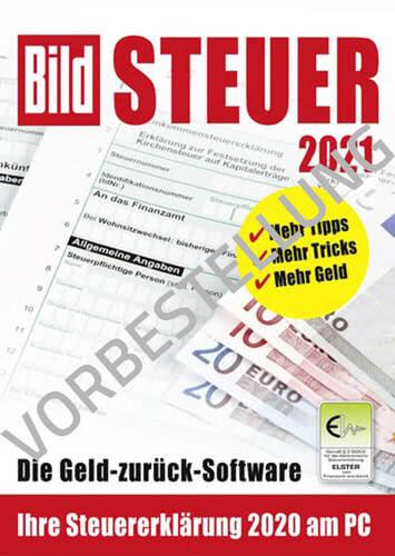 Verpackung von BILD Steuer 2022 (für Steuerjahr 2021) - Vorbestellung [PC-Software]