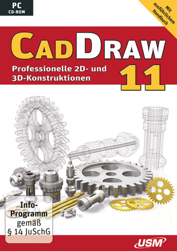 Verpackung von USM Cad Draw 11 [PC-Software]