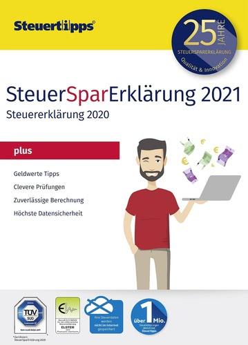 Verpackung von SteuerSparErklärung plus 2021 (für Steuerjahr 2020) [PC-Software]